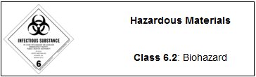 hazardous materials 62