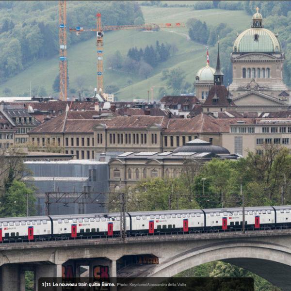 Rames Bombardier Twindex – Les pendulaires iront plus vite dans ce train