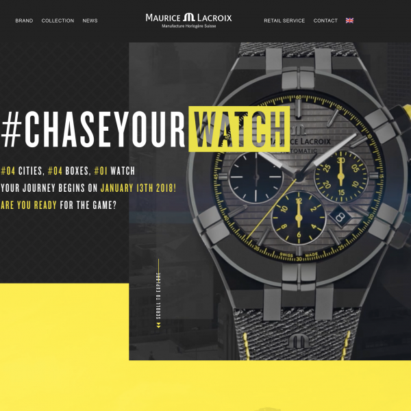 #chaseyourwatch – Be part of the game
